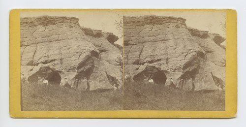 Indian Cave on Mulberry Creek, Kansas - Page