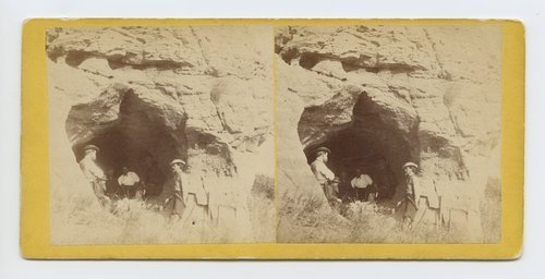 Picnic at Indian Cave on Mulberry Creek, Kansas - Page