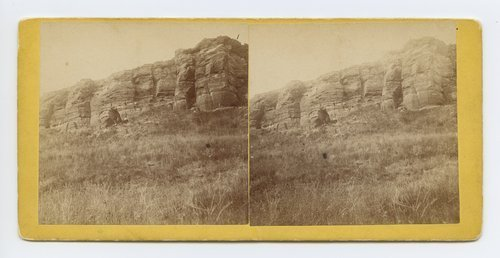Indian Hier[o]glyphic Rock on Smoky Hill River, Kansas - Page
