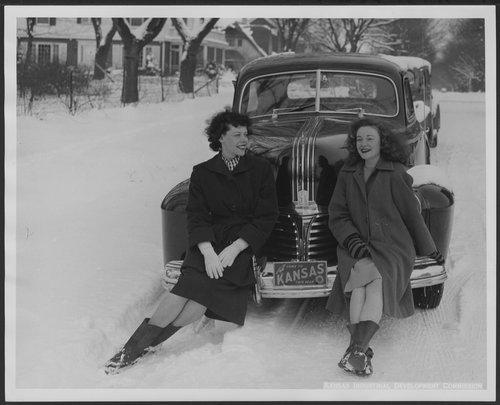 Snow scene in Kansas - Page