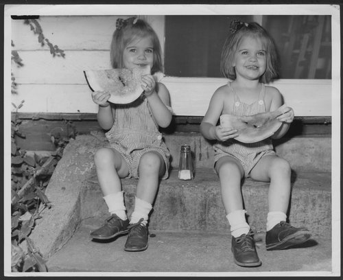 Eating watermelon, Wichita, Kansas - Page