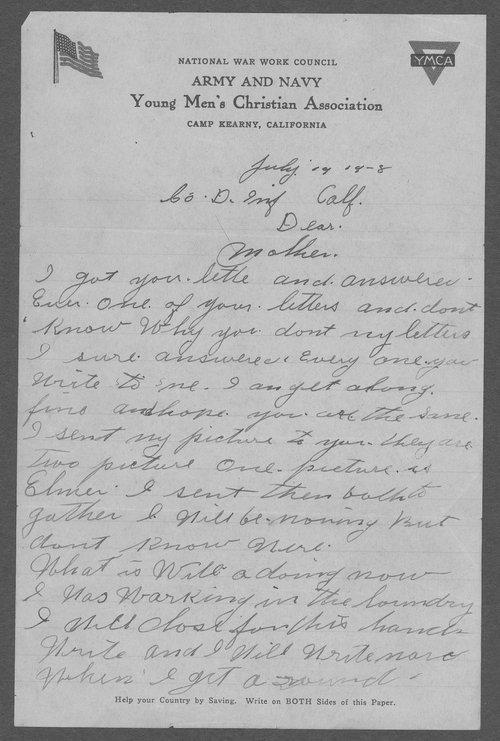 Albert R. Chancellor, World War I soldier - Page