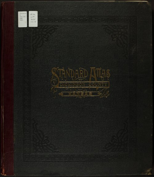 Standard atlas of Dickinson County, Kansas - Page