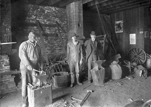 C. H. Strieby's blacksmith shop, Council Grove, Kansas - Page
