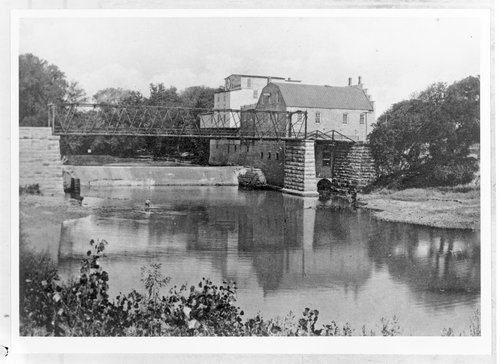 Soden's flour mill and dam, Emporia, Kansas - Page