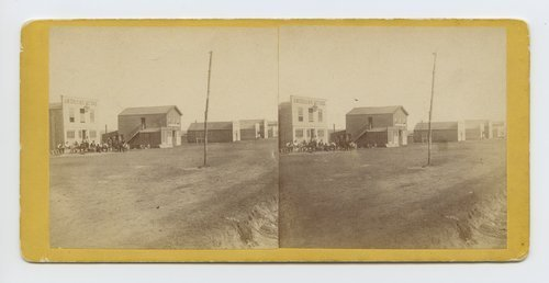North side of Main Street, Ellsworth Kansas. 508 miles west of St. Louis, Mo. - Page