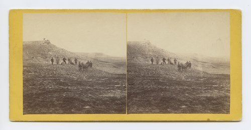 View on the Plains, Kansas, six miles west of Fort Hays. 586 miles west of St. Louis, Mo. - Page