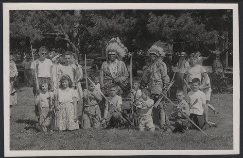 Archery class, Topeka, Kansas - Page