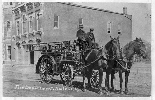 Firemen, Abilene, Kansas