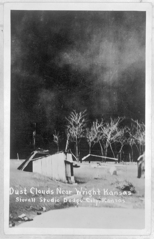 Dust Storm, Wright, Kansas - Page