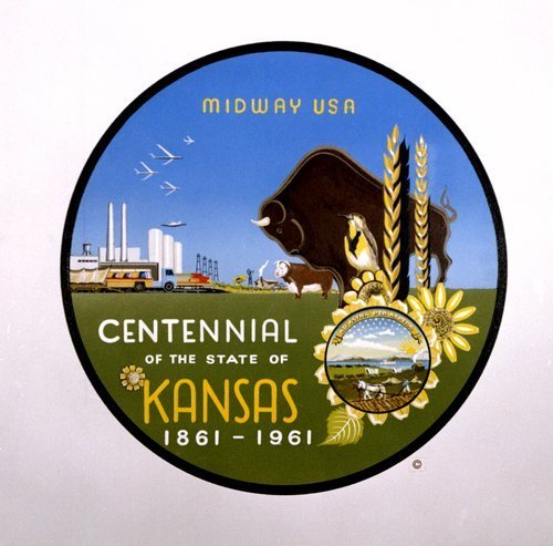 Kansas centennial seal - Page
