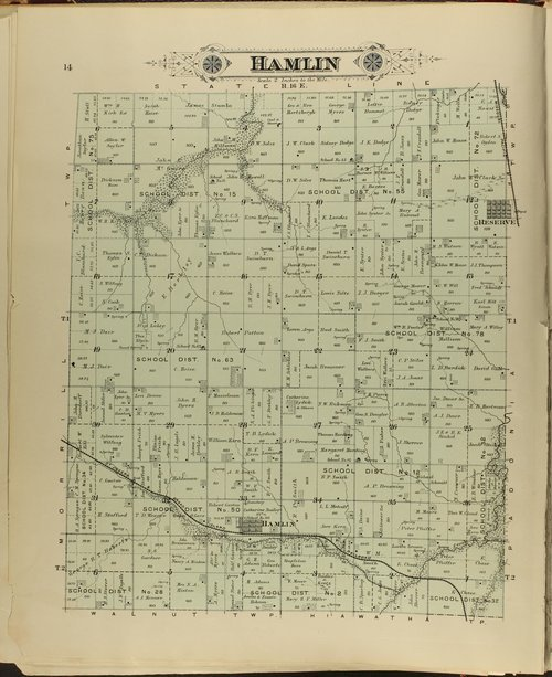 Meacham's illustrated atlas of Brown and Nemaha counties, Kansas - Page