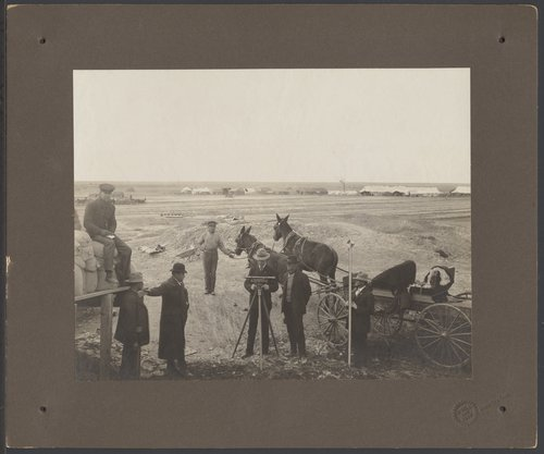 Surveyors at the Great Reservoir in Finney County, Kansas - Page