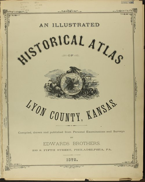 An illustrated historical atlas of Lyon county, Kansas - Page