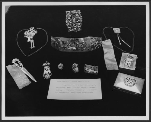 Native American Jewelry exhibits at the Menninger Museum in Topeka, Kansas - Page