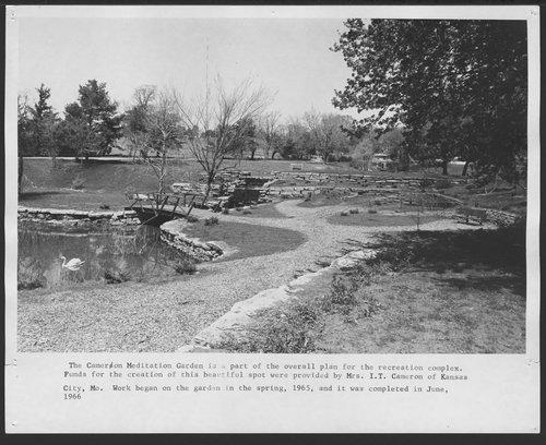 Cameron Meditation Garden, Menninger Clinic in Topeka, Kansas - Page