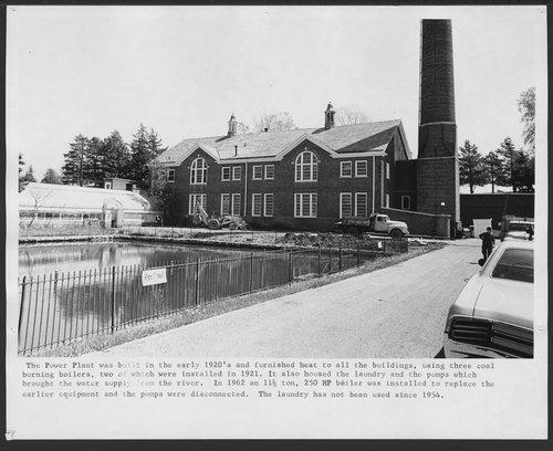 Power plant at Menninger Foundation, Topeka, Kansas - Page