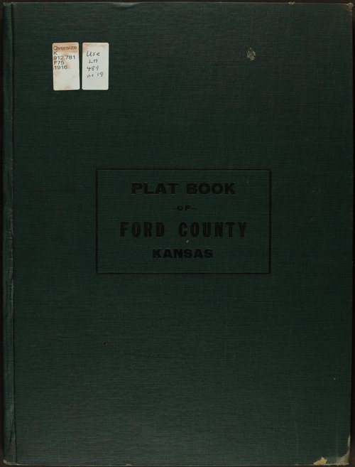 Atlas and plat book of Ford County, Kansas - Page
