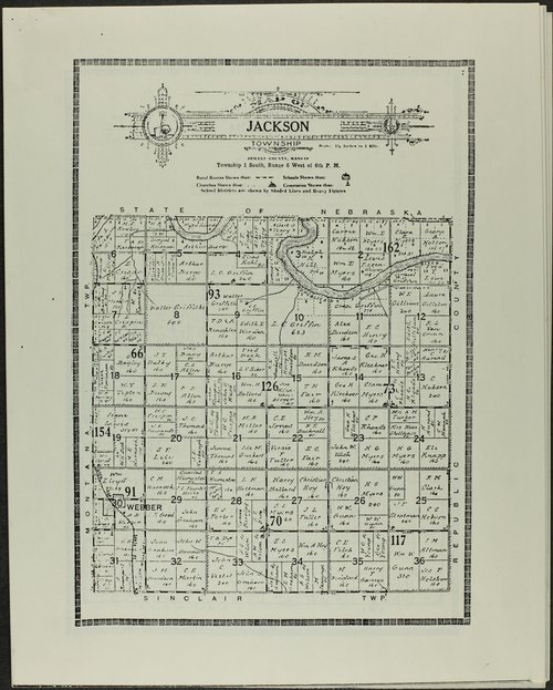 Atlas and plat book of Jewell County, Kansas - Page