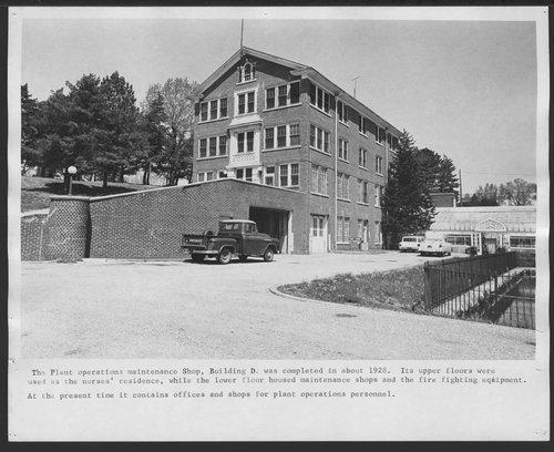 Plant Operations Shop, Menninger Foundation in Topeka, Kansas - Page