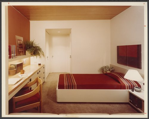 Patient's room at Menninger Clinic, Topeka, Kansas - Page