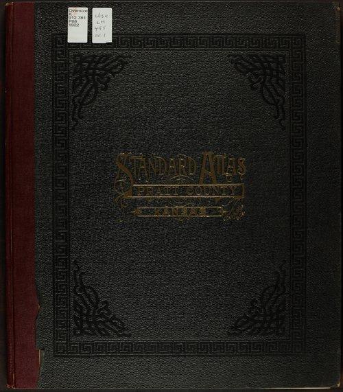 Standard atlas of Pratt County, Kansas - Page