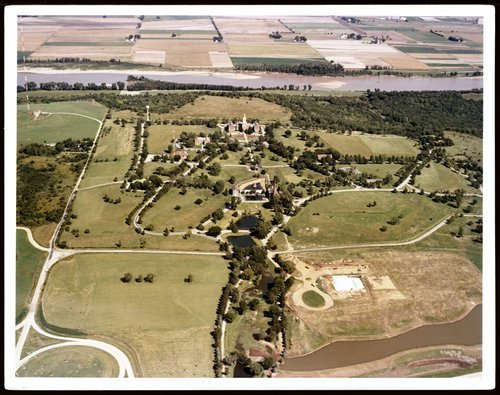 Aerial view of the Menninger West Campus, Topeka, Kansas - Page