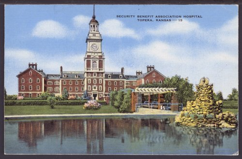 The Security Benefit Association hospital building, Topeka, Kansas