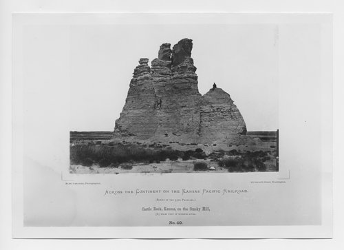 Castle Rock, Kansas, on the Smoky Hill - Page