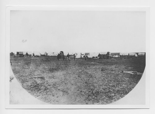 Engineer camp on the Great Plains of Kansas - Page