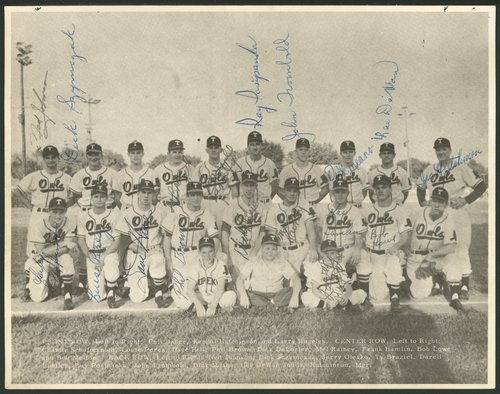 Topeka Owls baseball team in Topeka, Kansas - Page