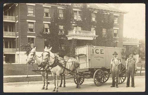 Ice wagon - Page