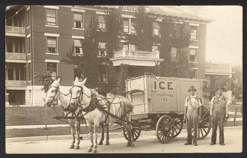 Ice wagon - Page