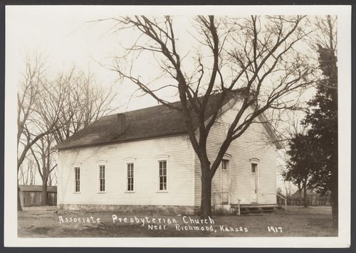 Associate Presbyterian Church near Richmond, Kansas - Page