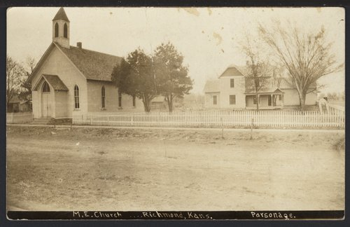 Methodist Episcopal Church and parsonage in Richmond, Kansas - Page