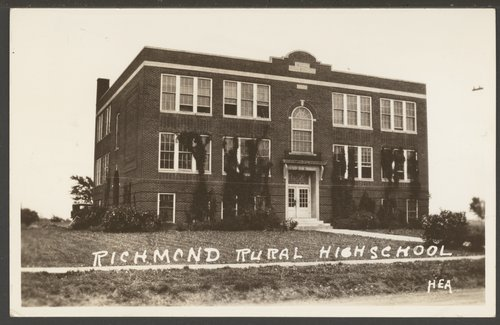 Rural high school in Richmond, Kansas - Page