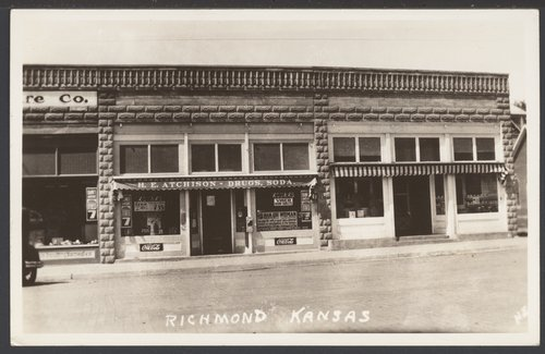 Business buildings in Richmond, Kansas - Page