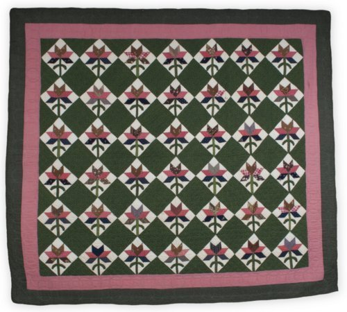 Tea Leaf or Single Lily quilt - Page