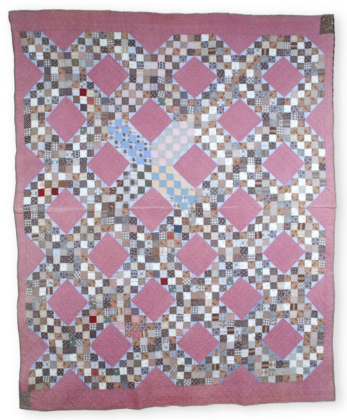 Double Irish Chain quilt - Page