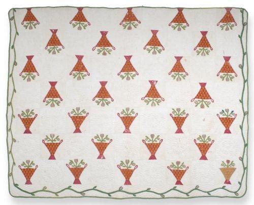 Flower Basket quilt - Page