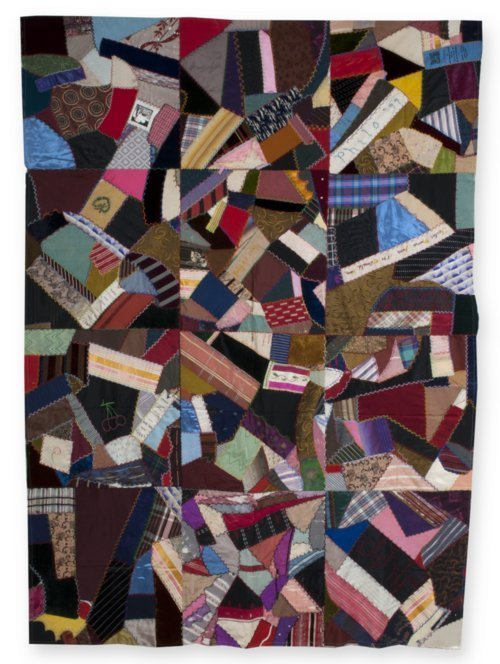 Crazy quilt top - Page