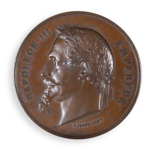Bronze Napoleon III medal - Page
