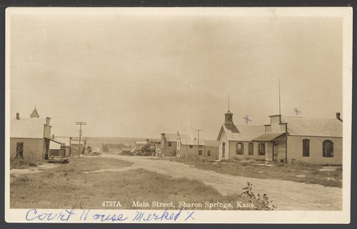 Main Street, Sharon Springs, Kansas - Page