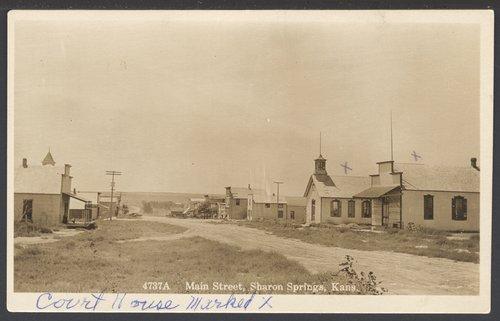 Main Street, Sharon Springs, Kansas - Page