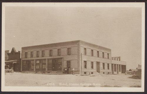 Sasnak Hotel, Sharon Springs, Kansas - Page