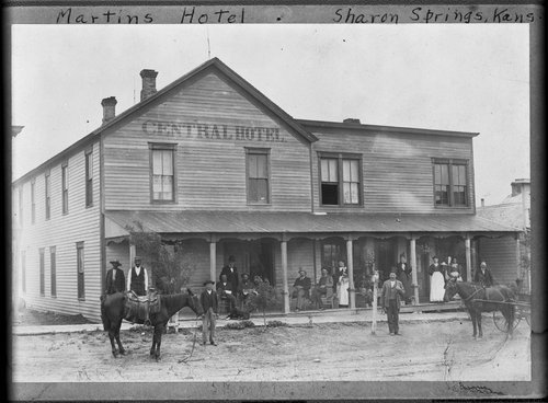 Central Hotel, Sharon Springs, Kansas - Page