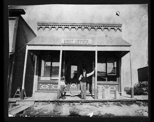 Post Office, Sharon Springs, Kansas - Page