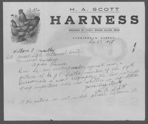 Dr. J.E. Scott, World War I soldier - Page