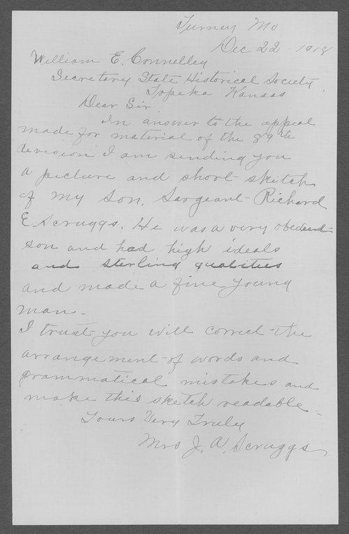 Richard E. Scruggs, World War I soldier - Page