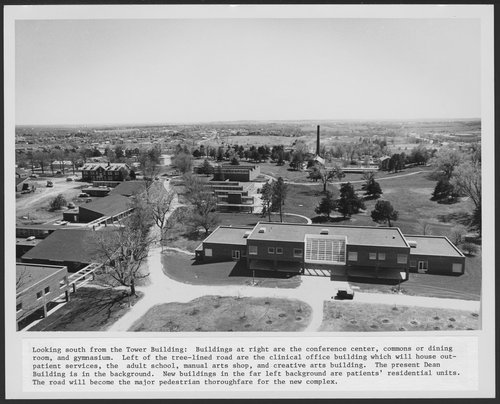 West Campus construction of Menninger Foundation, Topeka, Kansas - Page